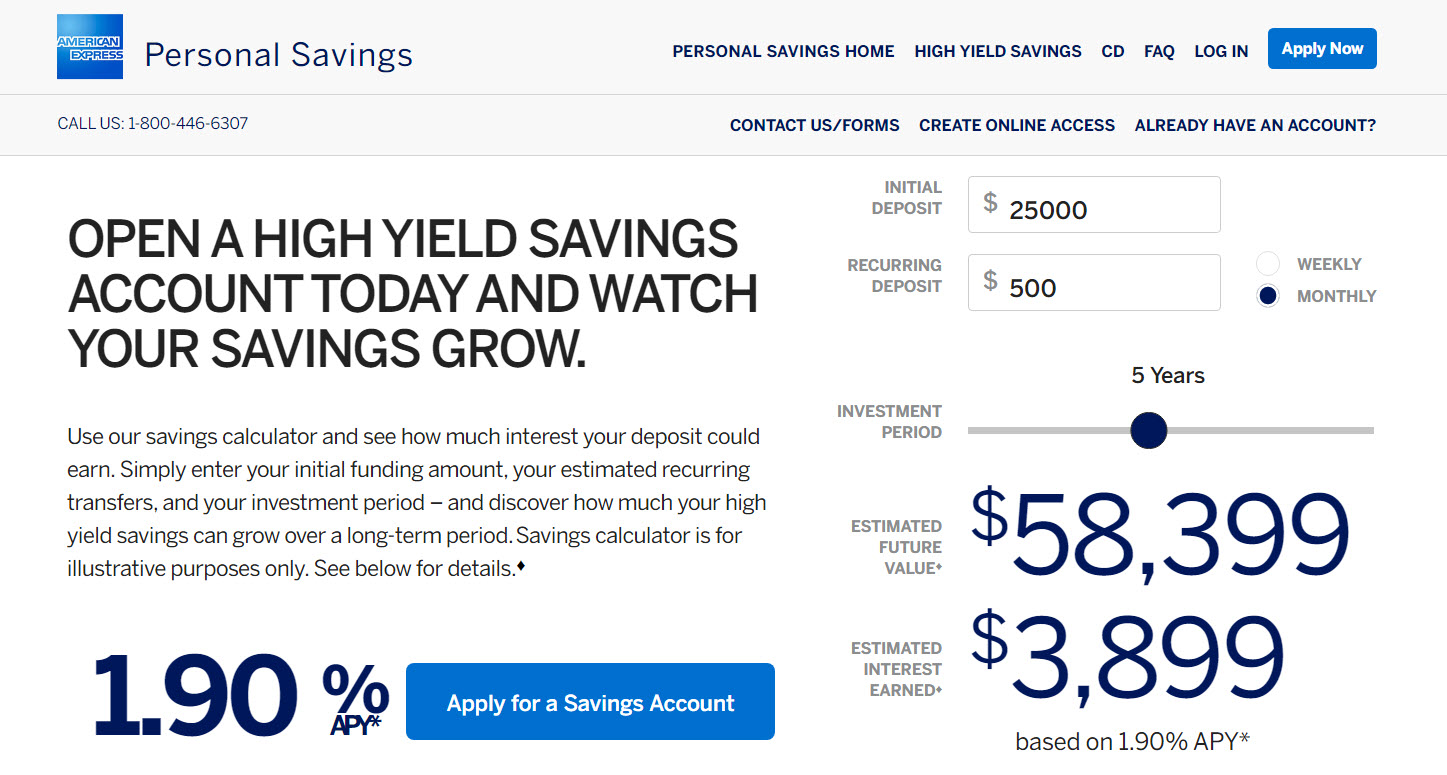 american express health savings account